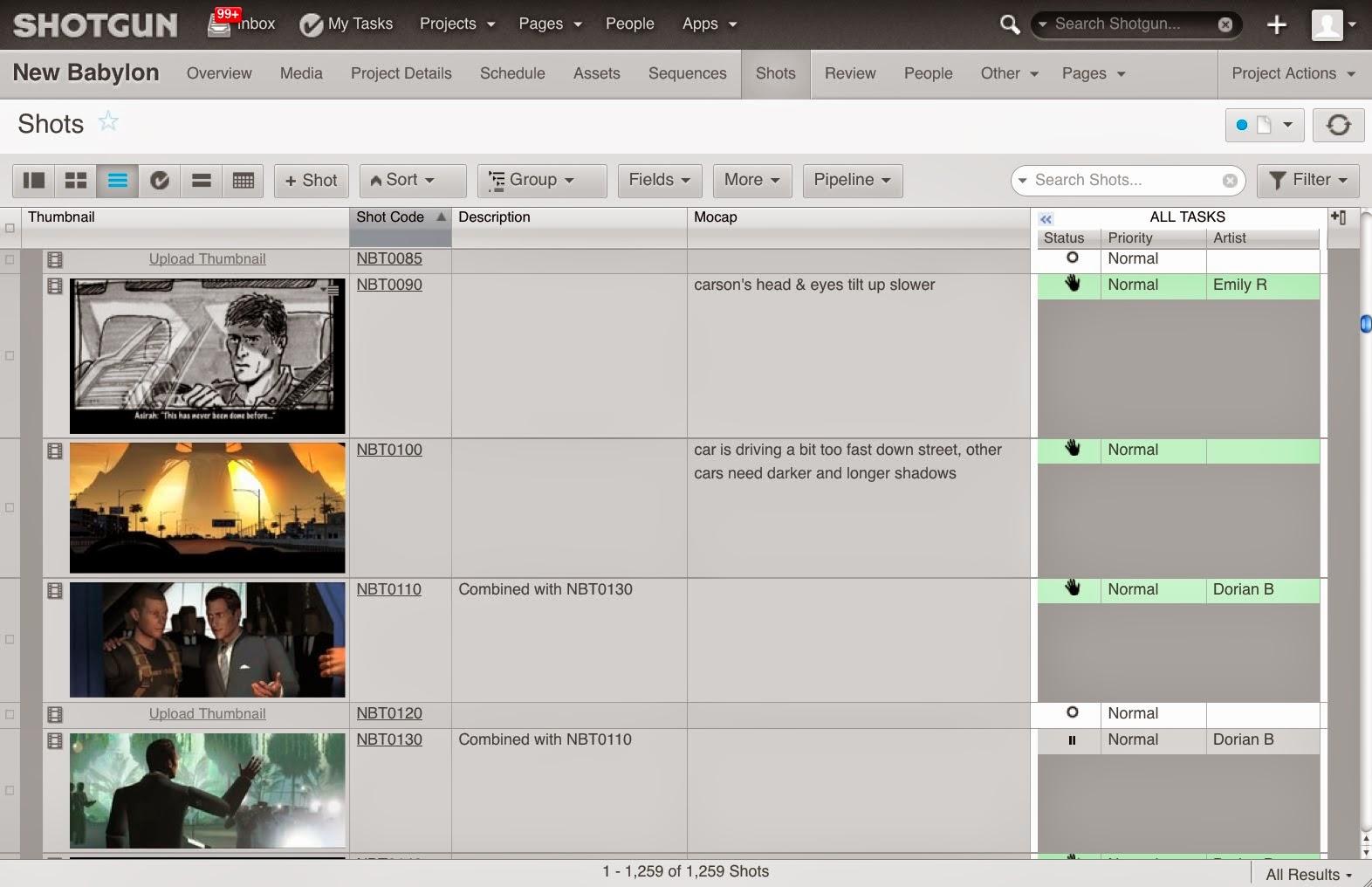 Shotgun Software | Blog | Shotgun Helps The Third Floor Manage Global Visualization Pipeline