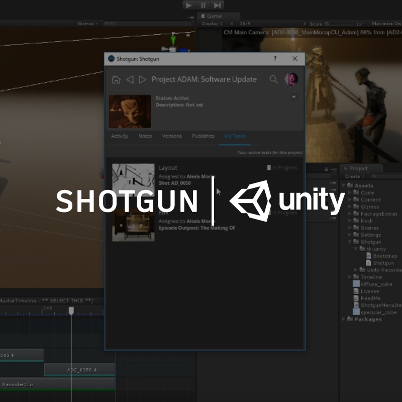 Shotgun Software | Blog | Unity Integration Coming Next Year!